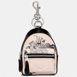 Coach Backpack Coin Case With Fairy Tale Print